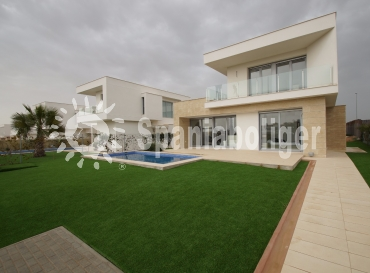 Semi-detached house - New Build - Orihuela - Urb Vistabella Golf