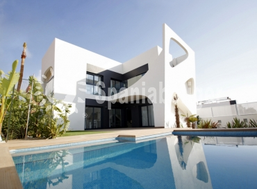 Semi-detached villa - Ny bygg - Rojales - Ciudad Quesada