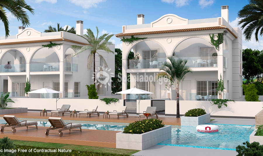 New Build - Townhouse in Corner - Rojales - Ciudad Quesada, Doña Pepa
